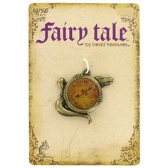 Fairy Tale by Bead Treasures Antique Brass Tick Tock Croc Pendant | Shop Hobby Lobby