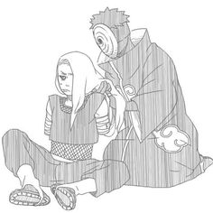Tobi and Deidara Madara Uchiha, Sasuke, Naruto Shippuden, Boruto, Deidara Akatsuki, Narusasu, Sasunaru, Naruto Comic, Anime Naruto