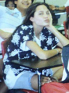 Angelina Jolie in high school,m,m,m,