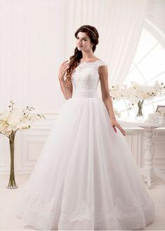 Свадебное платье «А-Силуэт» BL-113-1