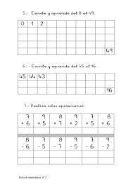 Resultado de imagen para castillo de numeros del 0 al 100