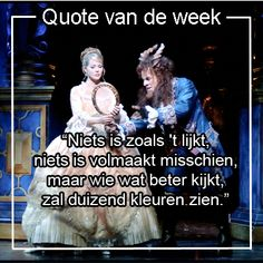 Joop van den Ende Theaterproducties - Quote uit de musical Belle en het Beest
