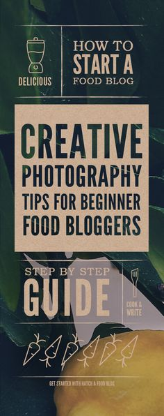 Food Photography For Beginner Food Bloggers
