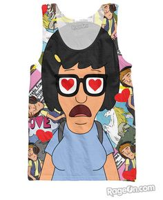Tina Belcher Tank Top - RageOn! - The World's Largest All-Over-Print Online Store