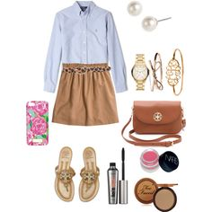 """""""School in style"""" by preppysoutherngirl on Polyvore"""
