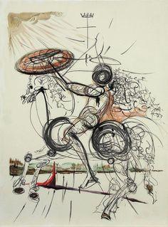 Salvador Dali, Crazy Horse
