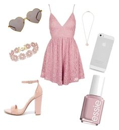 """""""Untitled #3"""" by rugilaila-ramonaiciuke on Polyvore featuring Topshop, Wildfox, BaubleBar, Ippolita, Essie and Steve Madden"""