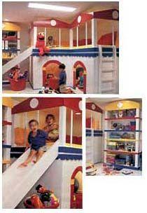 wow! Kids' Basement Playroom