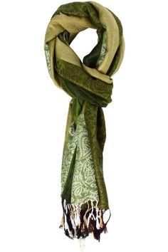 Makayla Striped Pashmina