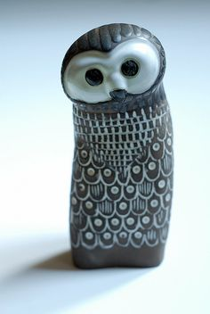 Owl by Mari Simmulson for Upsala-Ekeby (Sweden)