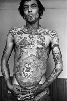Russian Criminal Tattoo - Danzig Baldaev