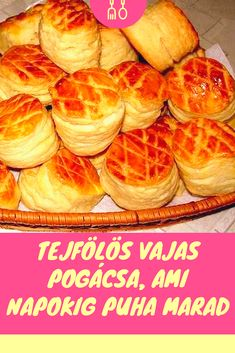 Bread Recipes, Snack Recipes, Snacks, Hungarian Recipes, Hungarian Food, Bread Baking, Baked Goods, Bob Ross, Waffles