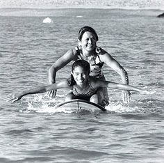 """Rell """"Kapolioka'ehukai"""" Sunn who died in January 1998 of breast cancer at the age of 47. Known worldwide as a pioneer of women's professional surfing, Rell Sunn achieved the stature of an icon in the Islands for her community activism."""