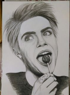 https://www.facebook.com/mrpszemkoarts    My sketch. Cara DeLevingne  Check out my fanpage.