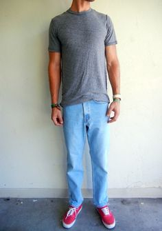 Light Wash Relaxed Levi's 550s $68.00