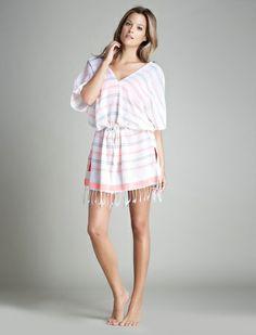 women'secret | Beachwear Collection | Túnica corta de algodón
