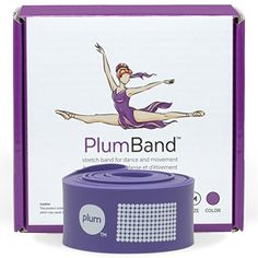 PlumBand - The Ballet Stretch Band for Dance and Gymnastics with Printed Instruction Booklet and Travel Bag Plum http://www.amazon.com/dp/B01B7160KY/ref=cm_sw_r_pi_dp_e5Lfxb0XZ3KK2