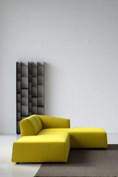 SECTIONAL FABRIC SOFA THEA BY MDF ITALIA | DESIGN LINA OBREGON, CAROLINA GALAN…