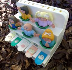 Vintage Cabbage Patch Kids Doll Piano Toy by Sinsperations on Etsy, $15.00