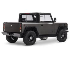 created from a clean sheet using a lightweight aluminum architecture, the bollinger B1 is changing the truck segment by building the world's first all-electric sport utility truck.