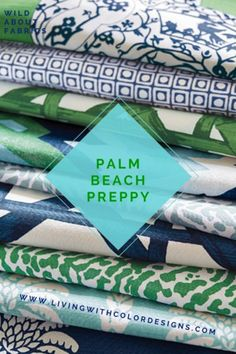 Living With Color Designs Blog: Palm Beach Preppy Style