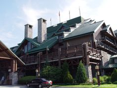 The Wilderness Lodge Resort in Disney World in Orlando Florida is a great resort. Modeled  after a log cabin they have a great restaurant that used to have free refills on milk shakes.
