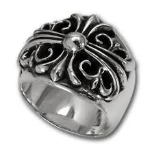 02c3459d83b chrome hearts keeper style ring for cheap