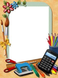 ДЕТСКИЕ ПОДЕЛКИ Boarder Designs, Frame Border Design, Page Borders Design, Photo Frame Design, Boarders And Frames, Teacher Stickers, School Frame, Powerpoint Background Design, Art Drawings For Kids