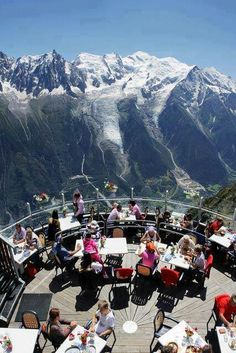 Eat Here: Chamonix, Mont Blanc France; Savoyarde (ie Regional / Traditional), Chamonix-Mont-Blanc Places Around The World, Oh The Places You'll Go, Places To Travel, Places To Visit, Wonderful Places, Great Places, Beautiful Places, Dream Vacations, Vacation Spots