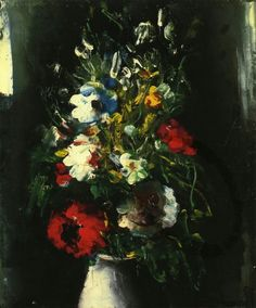 Maurice de Vlaminck (French, 1876-1958),Vase of Flowers, 1910. Oil on canvas,46.3 cm x 38 cm.