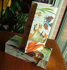 Small gift bags using old book pages! - PAPER CRAFTS, SCRAPBOOKING & ATCs (ARTIST TRADING CARDS)