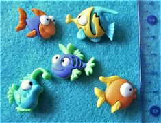 Something Fishy Dress It Up Novelty Craft Buttons Embellishments Tropical Sealife Fish – Animals Bank Holiday, Handmade Items, Handmade Gifts, Tropical Fish, Rubber Duck, Funny Faces, Marketing And Advertising, Embellishments, Craft Projects