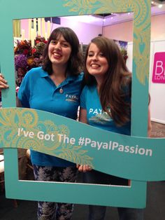 Alice & Jessie from the Payal Team!