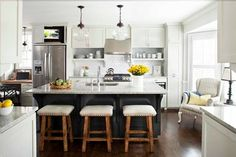 TerraCotta Properties's Design Ideas, Pictures, Remodel, and Decor - page 5 - sitting area in the kitchen