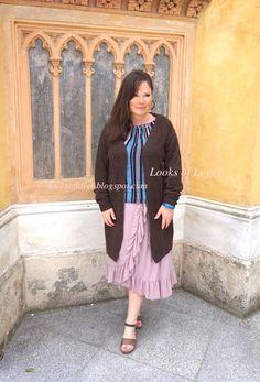 Outfit mit Rüschenrock