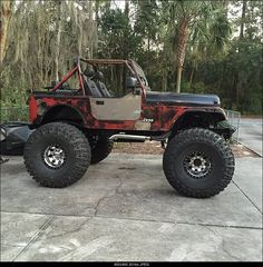 Spectacular photo - read our report for additional inspirations! Cj Jeep, Jeep Mods, Jeep Cj7, Jeep Wrangler Yj, Jeep Truck, Jeep Wrangler Unlimited, Badass Jeep, Jacked Up Trucks, Jeep Parts