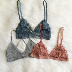Siena, Serena Rib Knit & Cecilia Bralettes Shop bralettes and more at…