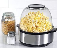 Day by day popcorn popper becomes more and more popular. When we watch any entertainment programme whether at home or at a movie theatre, we enjoy the company of popcorn as it makes more fun to watch a movie with a popcorn bowl.