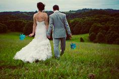 Paper Pinwheel Wedding