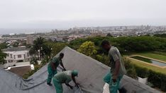 """Tented fumigation is an intricate and complex process but the end product is always worth it! Our staff have the best views from their """"office"""" Fumigation Services, Pest Control, Nice View, South Africa, Fields, Tent, Safety, Wood, Security Guard"""