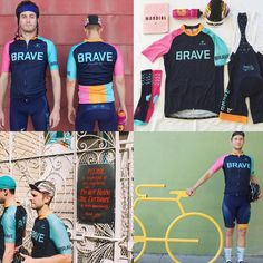 So fresh, so ice cream dream, so @bravecycling. The kit hustle is on