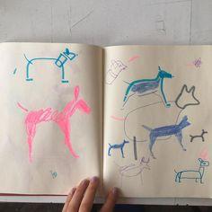-/===\*=*•⠀⠀-/===\*=*•⠀⠀ ⠀ ⠀ ⠀ ⠀ ⠀ ⠀ #dogs #sketch #sketchbook #drawing #illustration #instaart #quick