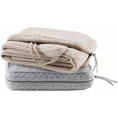 Madison Park Signature Cashmere Bld Travel Set Throw ($366) ❤ liked on Polyvore featuring home, bed & bath, bedding, blankets, cashmere blanket throw, cashmere throw, cashmere travel set, cashmere blanket and madison park bedding