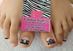 Toe Nail Art, Toe Nails, Nail Art Videos, Manicure And Pedicure, Mary, Toenails, Tatoo, Toenails Painted, Pretty Toe Nails