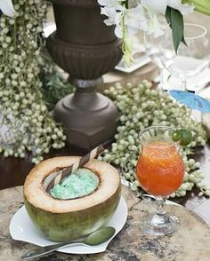 Cool down your outdoor celebration by picking from our local tropical coolers and dessert to end the meals.   Meals, desserts, and more in Inspirations for Weddings Magazine Issue 3. Available in magazine outlets nationwide or in Themes & Motifs - Makati Shangri-La (09155615958)