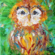 """""""Little Owl"""" par Karen Tarlton"""