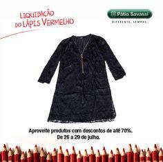 Vestido Manga 7/8 Rendado, de 850,00por R$425,00 na Forum do @meupatiosavassi. #LLV
