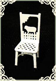 """1/4"""" Sheep Chair"""
