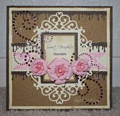 """Sweet Decadence Chocolate"" Card - Scrapbook.com"