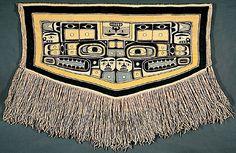 Chilkat blanket, Tlingit, 20th century.